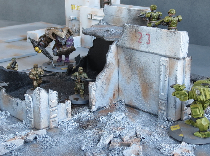 Terrain Tutorial: Making a Ruin from Cardboard Gift Boxes